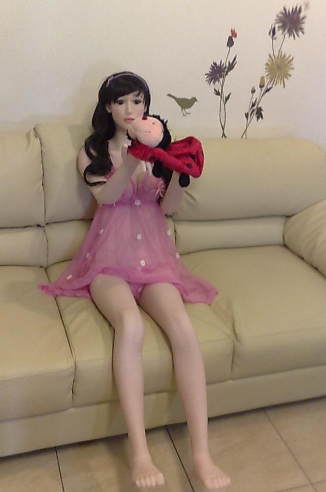 Asian Real Sex Doll Boneka Sex Full Silikon
