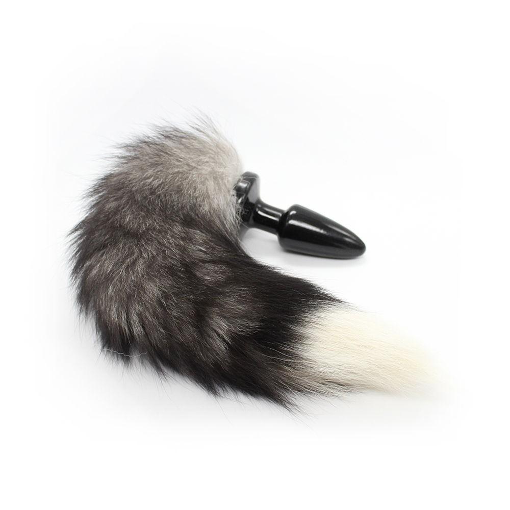 Butt Plug Fox Tail Silicone