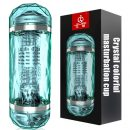 Crystal Double Male Masturbation Cup