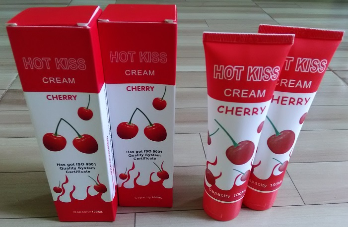 Lubricant Hot Kiss Cream
