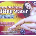 American Blue Demon Exiting Water